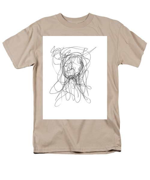 Scribble For Gusts, Dust, The Sun... Men's T-Shirt  (Regular Fit) by Ismael Cavazos