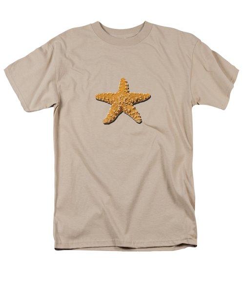 Sea Star Orange .png Men's T-Shirt  (Regular Fit)