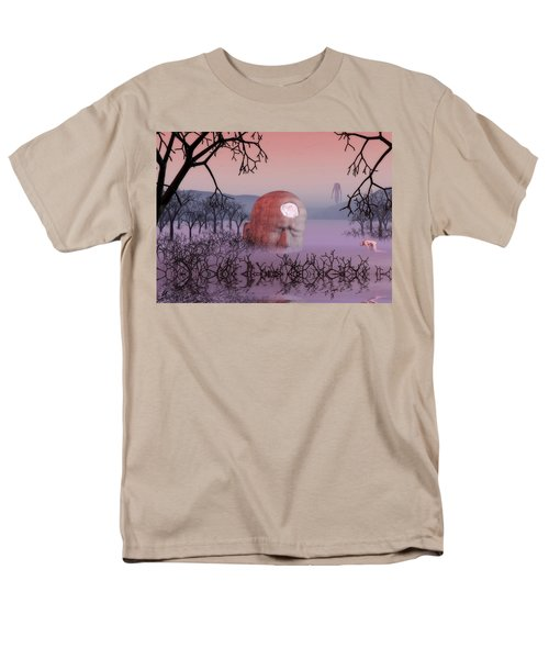 Seeking The Dying Light Of Wisdom Men's T-Shirt  (Regular Fit) by John Alexander