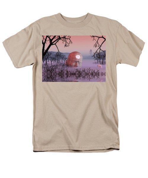 Seeking The Dying Light Of Wisdom Men's T-Shirt  (Regular Fit)