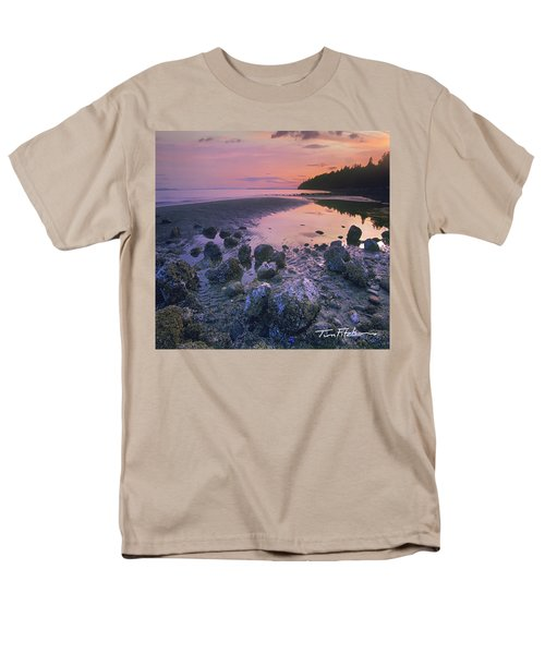 Semiahmoo Bay Men's T-Shirt  (Regular Fit) by Tim Fitzharris