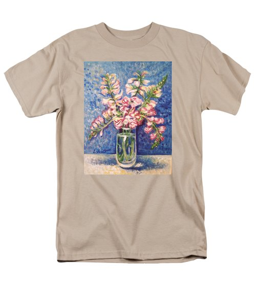 Men's T-Shirt  (Regular Fit) featuring the painting September Snaps by Laura Aceto