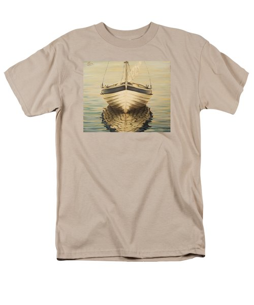 Men's T-Shirt  (Regular Fit) featuring the painting Serenity by Natalia Tejera