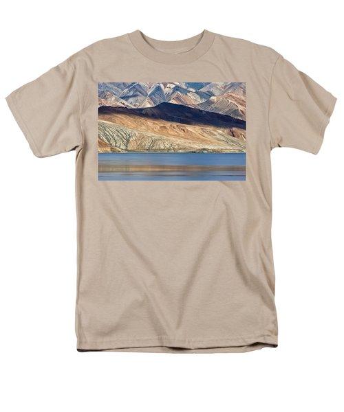 Shadow Tso Moriri, Karzok, 2006 Men's T-Shirt  (Regular Fit) by Hitendra SINKAR