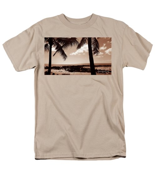 Men's T-Shirt  (Regular Fit) featuring the photograph Shark's Cove by Kristine Merc
