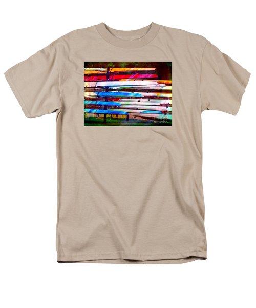 Shells At Henley Men's T-Shirt  (Regular Fit) by Judi Bagwell