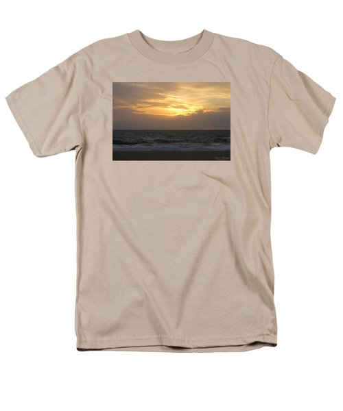 Men's T-Shirt  (Regular Fit) featuring the photograph Shining Clouds by Robert Banach