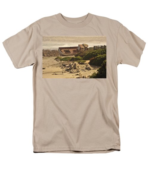 Shipwrecked Men's T-Shirt  (Regular Fit) by Patrick Kain