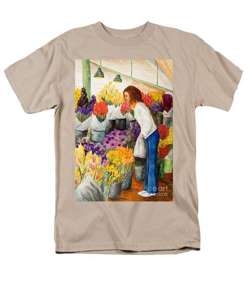 Shopping Pike's Market Men's T-Shirt  (Regular Fit)