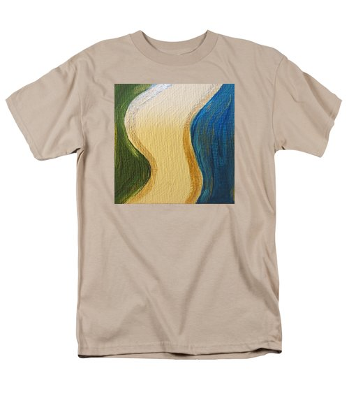 Sierra Leone Coastline - Freetown - Sierra Leone  Men's T-Shirt  (Regular Fit) by Mudiama Kammoh