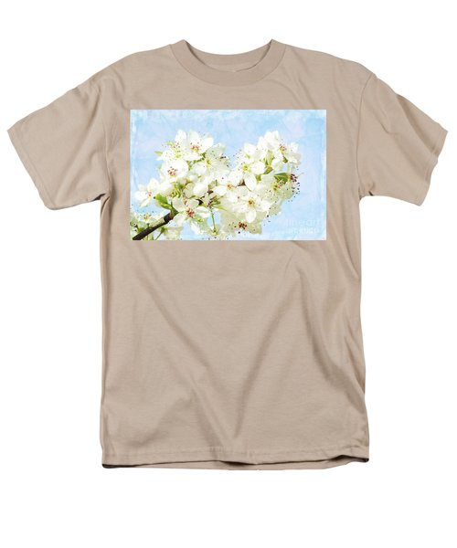 Signs Of Spring Men's T-Shirt  (Regular Fit) by Inspirational Photo Creations Audrey Woods