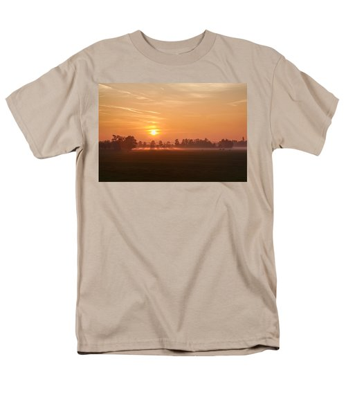 Men's T-Shirt  (Regular Fit) featuring the photograph Silent Prelude by Annie Snel