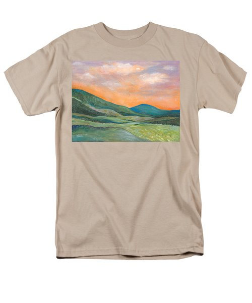 Men's T-Shirt  (Regular Fit) featuring the painting Silent Reverie by Tanielle Childers