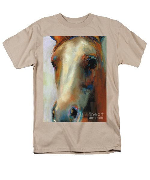 Simple Horse Men's T-Shirt  (Regular Fit) by Frances Marino
