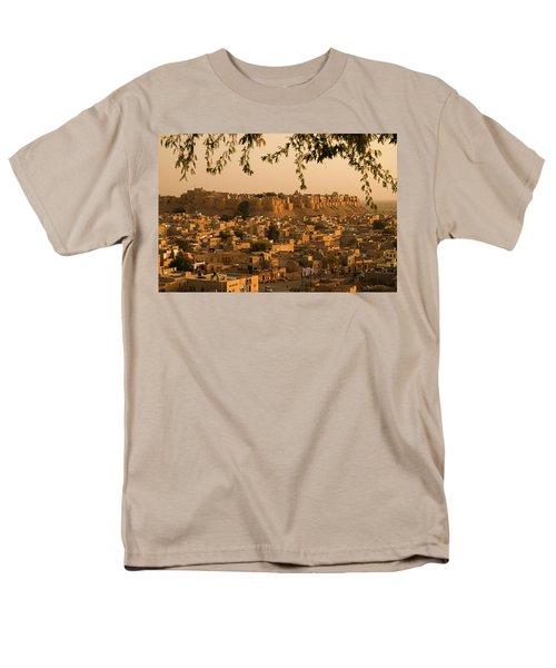 Skn 1334 The Golden City Men's T-Shirt  (Regular Fit) by Sunil Kapadia