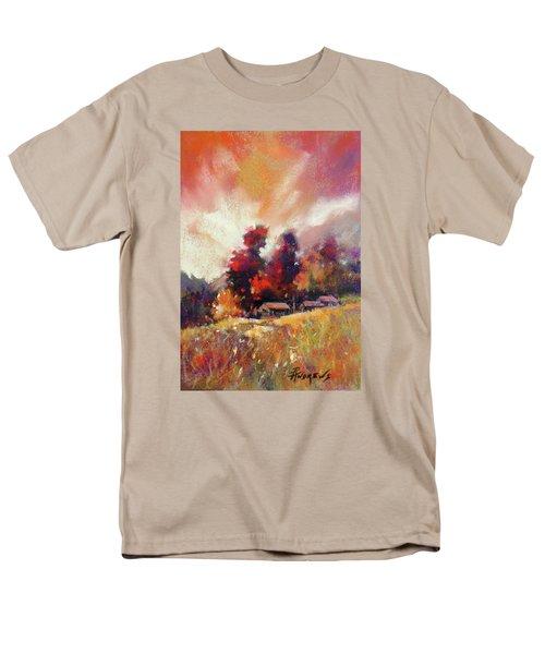 Sky Fall Men's T-Shirt  (Regular Fit) by Rae Andrews