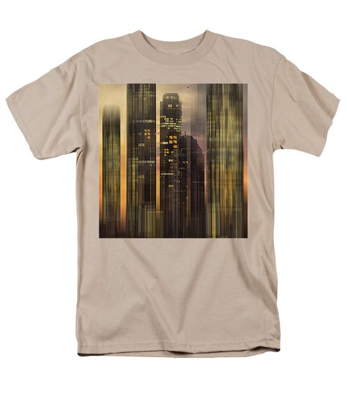 Sky Scrapers Men's T-Shirt  (Regular Fit)