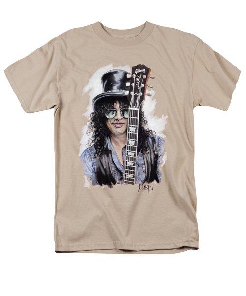Slash 1 Men's T-Shirt  (Regular Fit) by Melanie D