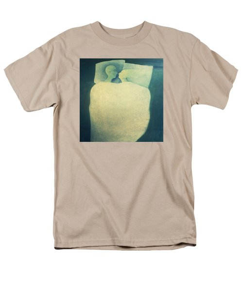 Men's T-Shirt  (Regular Fit) featuring the painting Sleep - In Love by Tone Aanderaa