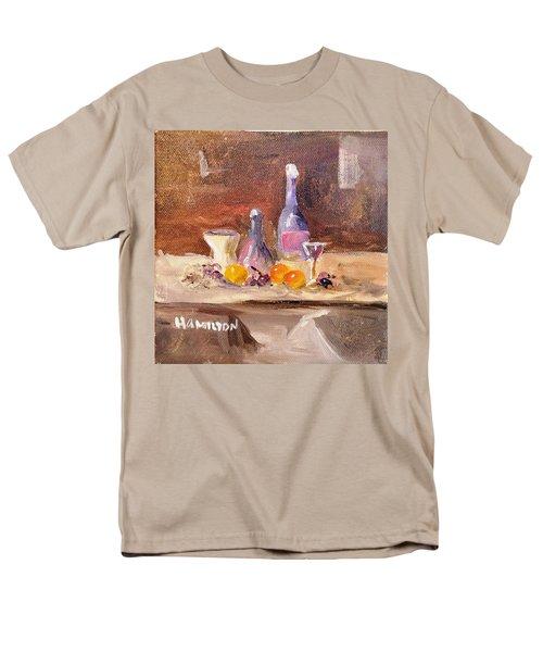 Small Still Life Men's T-Shirt  (Regular Fit) by Larry Hamilton