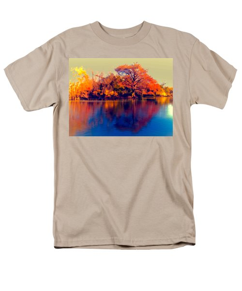 Men's T-Shirt  (Regular Fit) featuring the digital art Smoke Signals by Wendy J St Christopher