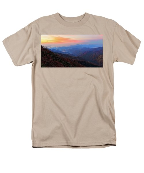 Dawn From Standing Indian Mountain Men's T-Shirt  (Regular Fit) by Daniel Reed