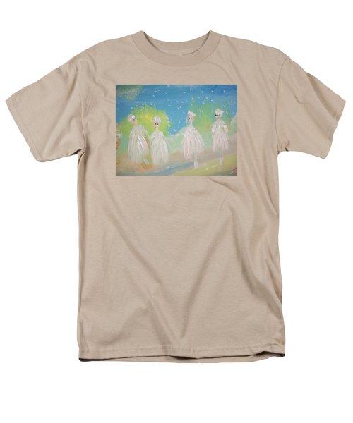 Snow Ballet Men's T-Shirt  (Regular Fit) by Judith Desrosiers