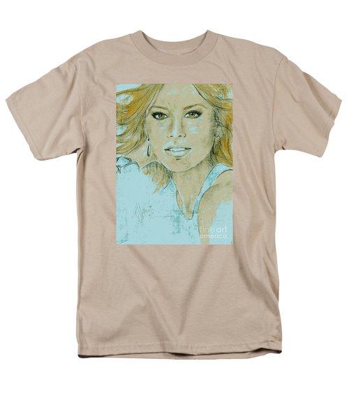 Sofia Vergara Men's T-Shirt  (Regular Fit) by P J Lewis