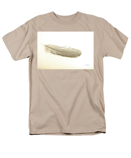 Softness Of A Feather Men's T-Shirt  (Regular Fit) by Randi Grace Nilsberg