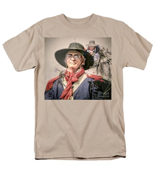 Men's T-Shirt  (Regular Fit) featuring the mixed media Soldado Composite by Kim Henderson