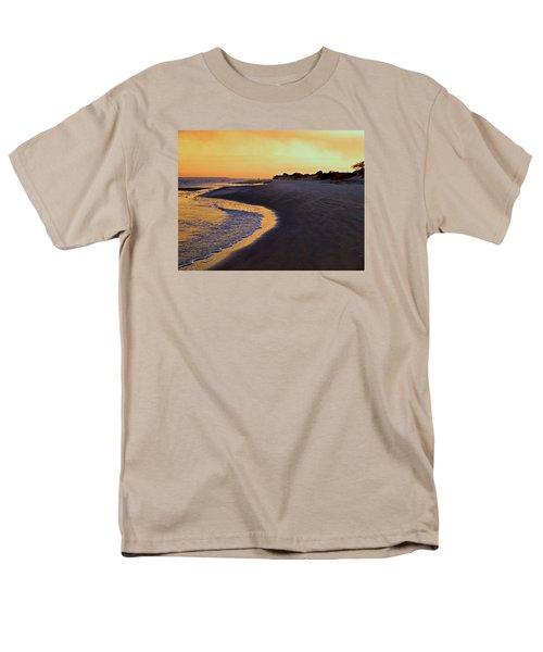 Men's T-Shirt  (Regular Fit) featuring the photograph Solitary Walker by Laura Ragland