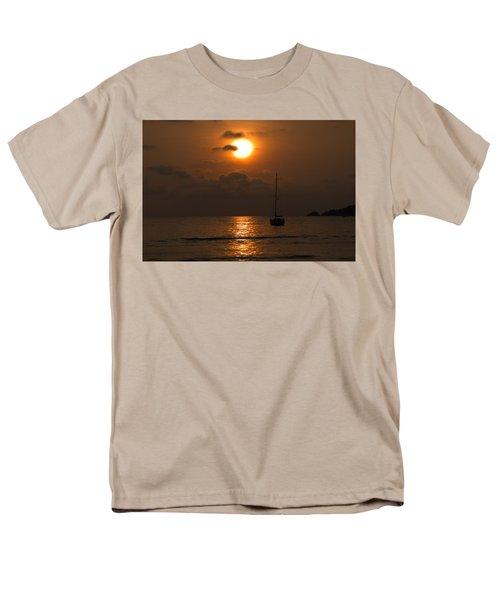 Men's T-Shirt  (Regular Fit) featuring the photograph Solitude by Jim Walls PhotoArtist