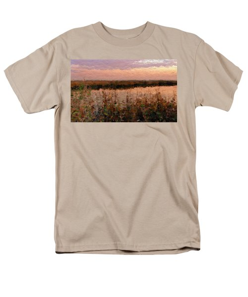 South Carolina Evening Marsh Men's T-Shirt  (Regular Fit) by Anthony Fishburne