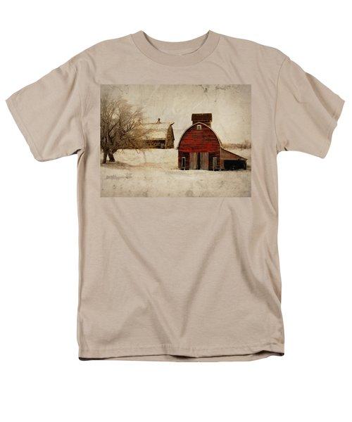 South Dakota Corn Crib Men's T-Shirt  (Regular Fit)