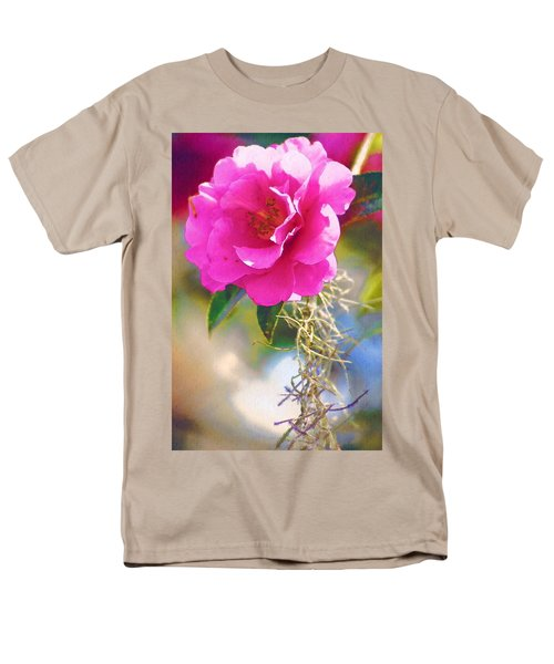 Men's T-Shirt  (Regular Fit) featuring the digital art Southern Rose by Donna Bentley