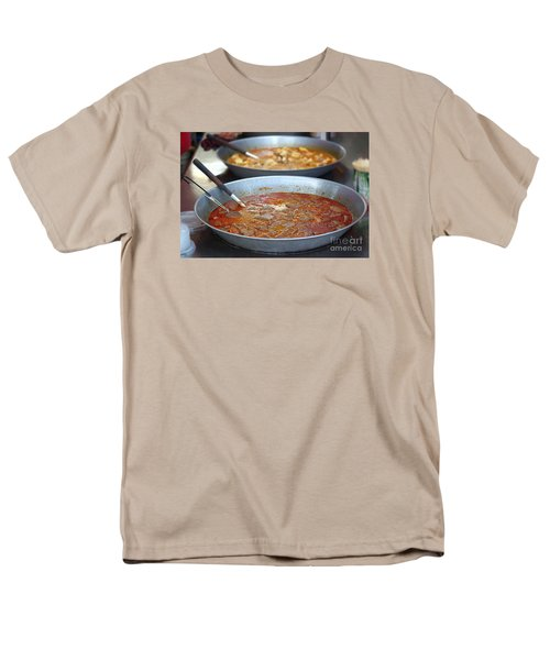Spicy Duck Blood Soup Men's T-Shirt  (Regular Fit) by Yali Shi