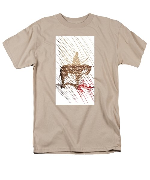 Spirit Animal . War Horse  Men's T-Shirt  (Regular Fit) by John Jr Gholson