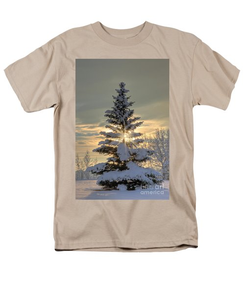 Spirit Tree Men's T-Shirt  (Regular Fit) by Brad Allen Fine Art