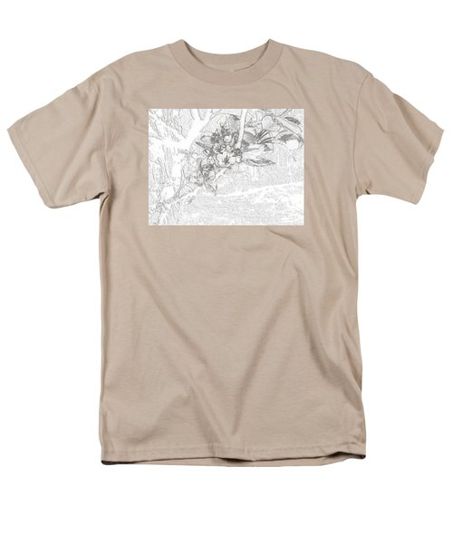 Spring Blossums Men's T-Shirt  (Regular Fit) by Craig Walters