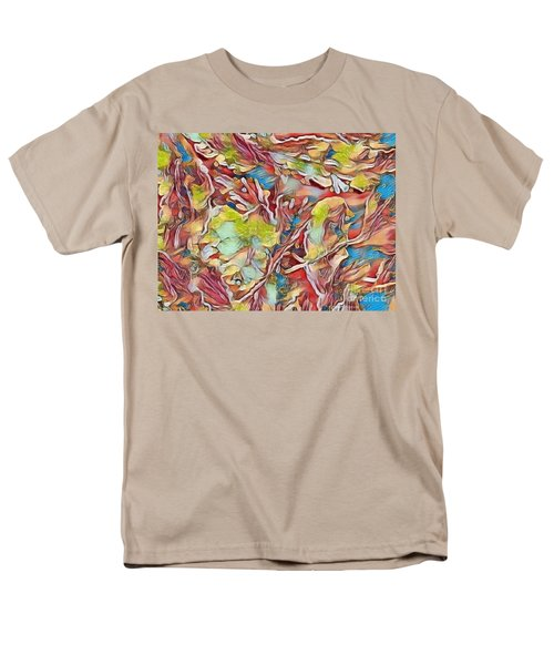 Men's T-Shirt  (Regular Fit) featuring the photograph Spring Breaks Forth by Kathie Chicoine