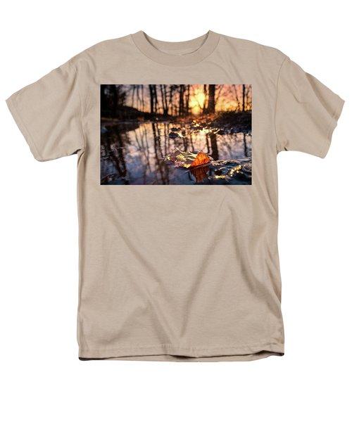Spring Puddles Men's T-Shirt  (Regular Fit) by Craig Szymanski