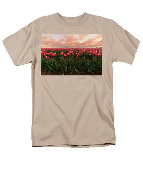 Spring Rainbow Men's T-Shirt  (Regular Fit) by Ryan Manuel