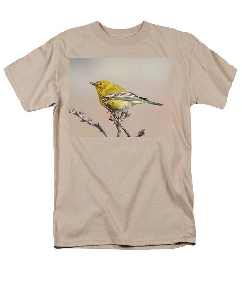 Men's T-Shirt  (Regular Fit) featuring the photograph Spring Warbler 1 2017 by Lara Ellis