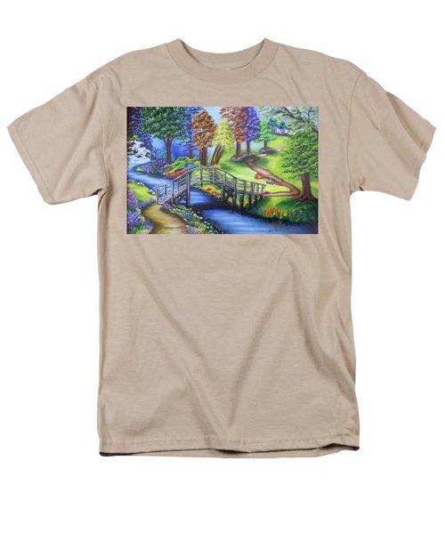 Springtime In The Park Men's T-Shirt  (Regular Fit)