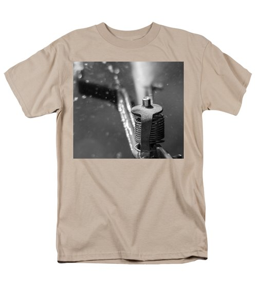 Men's T-Shirt  (Regular Fit) featuring the photograph Sprinkler by Wade Brooks