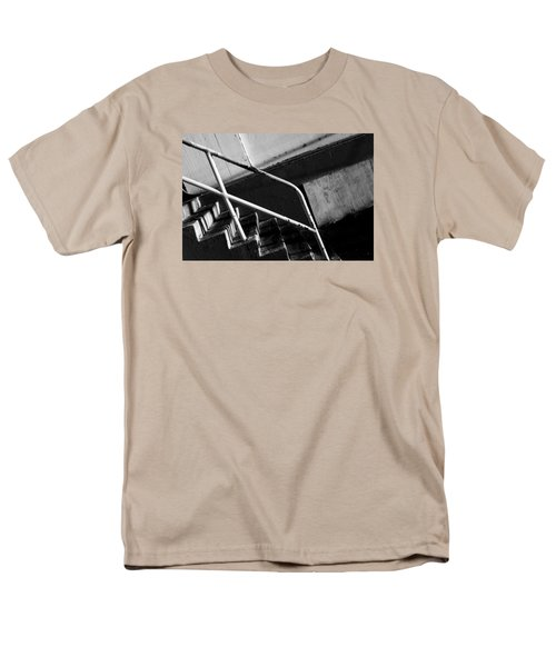 Stair Wall And Shadows Men's T-Shirt  (Regular Fit) by Catherine Lau