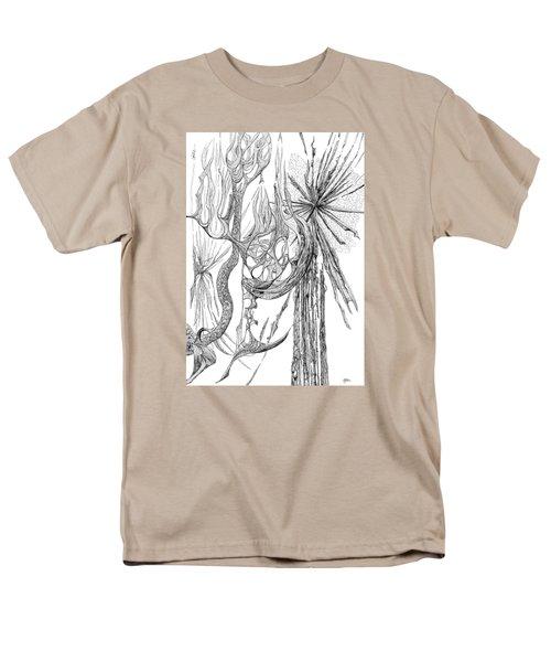 Starburst Men's T-Shirt  (Regular Fit) by Charles Cater
