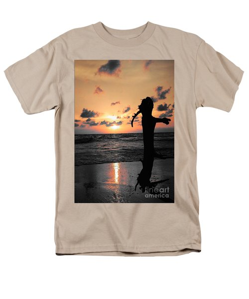 Still By Sea Men's T-Shirt  (Regular Fit) by Rushan Ruzaick