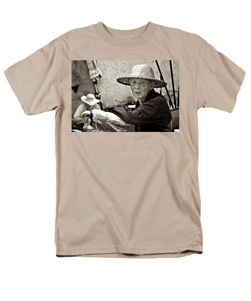 Still Working Men's T-Shirt  (Regular Fit) by Valerie Rosen
