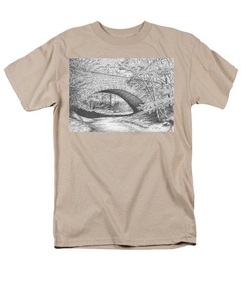Stone Bridge Men's T-Shirt  (Regular Fit) by Lawrence Tripoli